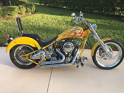 2000 Custom Built Motorcycles Chopper  Custom Chopper Ironworks Testa Road with only 212 miles
