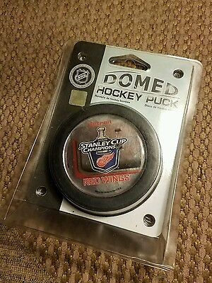2008 Detroit Red Wings Stanley Cup Champions Domed Hockey Puck new in package