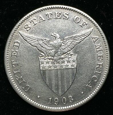 1903p Peso US-Philippines  Silver Coin - lot#7