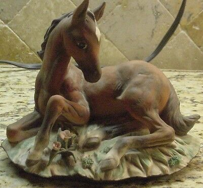 Masterpiece by Homco Colt Figurine