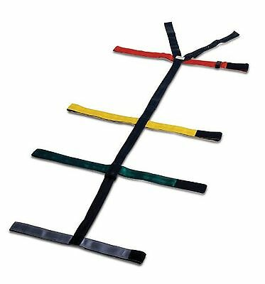 Dixie Ems 010308 Spineboard 10 Point Reflective Color Coded Spider Strap Type...