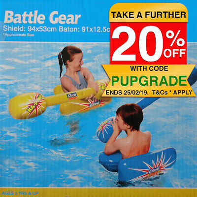 Inflatable Children Kids Battle Gear Shield Baton/Outdoor/Beach Pool/Water Toy