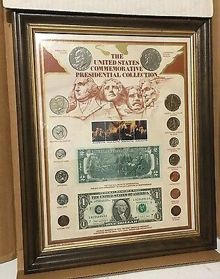 The United States Commemorative Presidential Collection Framed