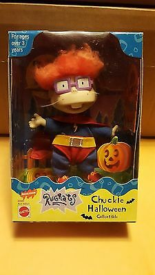 1998 Nickelodeon Rugrats Chuckie Halloween Collectible Figure Mattel  NEW IN BOX