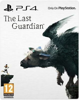 The Last Guardian: Special Steelbook Edition PS4 PlayStation 4 Brand New