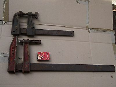 Vintage Paulcall F Clamp & Another
