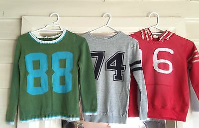 Boys Seed Jumpers Size 7-8