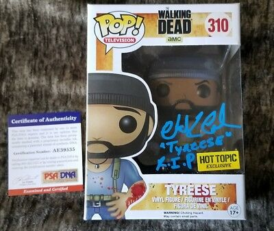 Chad Coleman 'The Walking Dead Tyreese' Signed Funko Pop Hot Topic W/Proof