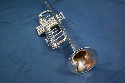Silver Bach Stradivarius Model 43 Professional trumpet