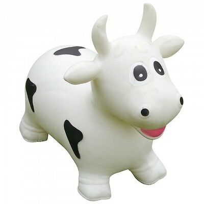 Cow  Animal Space Hopper Sit & Ride Inflatable play soft fun pvc toy CW7601