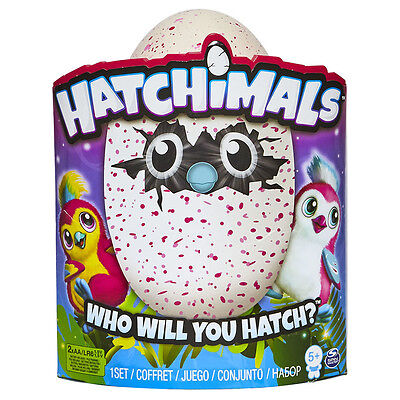 NEW Hatchimals Pengualas [Pink] Egg - Interactive Magical Creature - SEALED