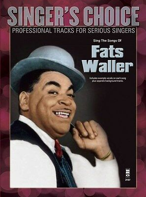 Singer's Choice: Sing The Songs Of Fats Waller (Book/CD). Voice Sheet Music, CD