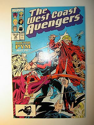 West Coast Avengers #36 VF/NM,37 VF,38 FN,39 NM-,40 NM-,41 FN, +more,1988,Marvel