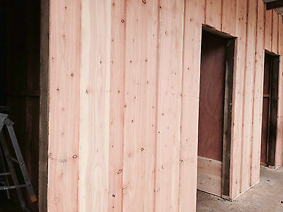 Larch Timber Cladding Hit And Miss / 150mm x 16mm x 2.4m