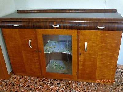 Vintage art deco buffet sideboard