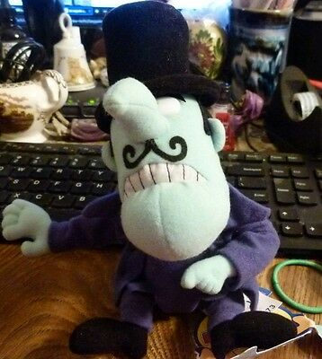 1999 CVS Rocky and Bullwinkle SNIDELY WHIPLASH Plush Stuffin New With Tag 9""