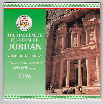 Jordan 1996 8 Coins Mint Set,with Cover,brilliant Uncirculated,new