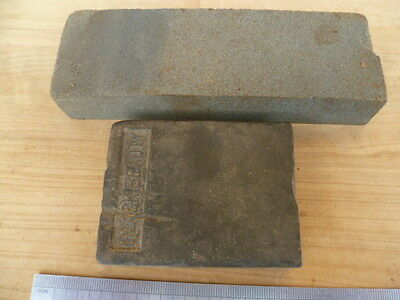 Vintage Old  Sharpening Stones, Old Tools Lot 'x2' (C336)