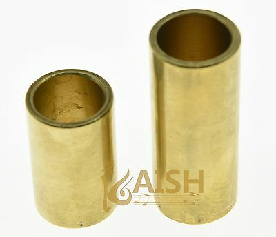 Two Pcs  Guitar Knuckle Slide Brass Guitar Finger Slides