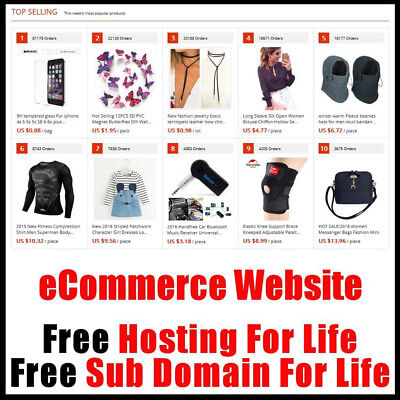 Website - eCommerce With 100 Million Goods - Fully Built & Set Up - Home Online