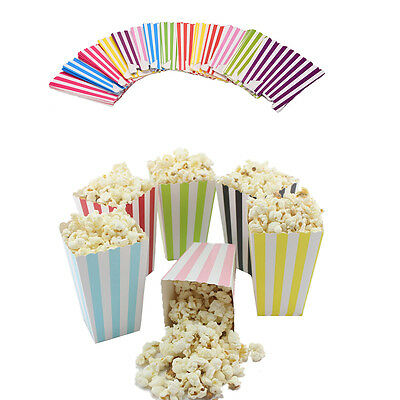 12 Popcorn Boxes - Small Gift Party/Loot/Wedding Cinema Empty Pop Corn