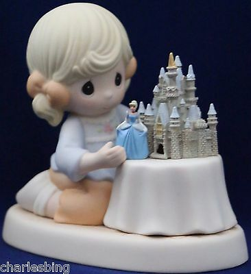 MIB Precious Moments  A WORLD OF MY OWN, 690003D Disney Theme Park Exclusive
