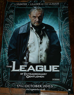 The LEAGUE OF EXTRAORDINARY GENTLEMEN One Sheet Cinema Poster, Sean Connery