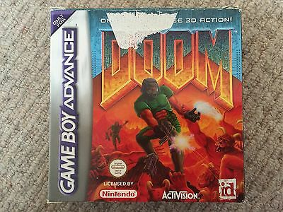 Doom - Gameboy Advance GBA Box Only
