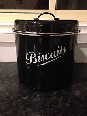 Vintage Style Biscuit Tin