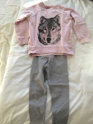 2 Piece Outfit Girls Age 4-5