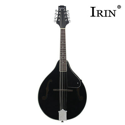 1Pcs Mandolin Basswood Rosewood Fingerboard Steel 8 String A-style Mandolins New