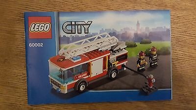 LEGO City 60002 Instructions Only
