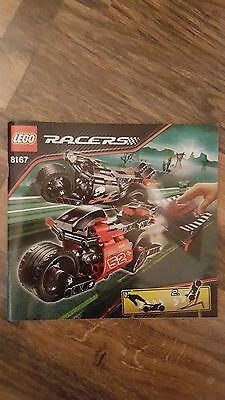 LEGO Racers 8167 Instructions Only