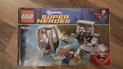LEGO Super Heros 76009 Instructions Only