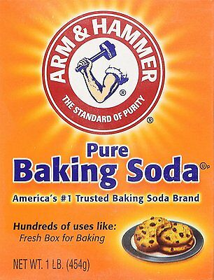 Arm and Hammer Baking Soda, Pure 16 Ounces (Pack Of 6)