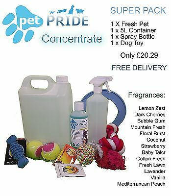 Pet Pride Super Pack - Kennel, Cattery Disinfectant Super Pack