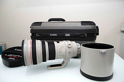 Canon EF 400mm f/2.8 L IS USM Excellent condition!