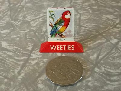 COLLECTABLE  VINTAGE TIN  1950's weeties CEREAL TOY ''ROSELLA''