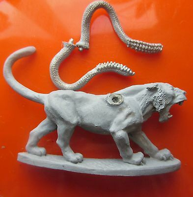 11-413 Displacer cat beast ral partha monster miniatures ad&d panther tentacles