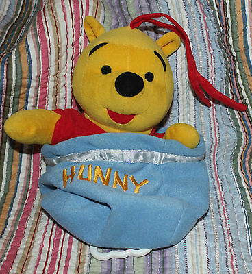 Winnie The Pooh Pull Cord Cot Music Toy