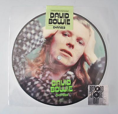 """David BOWIE - CHANGES - New ltd ed 7"""" picture esclusiva RECORD STORE DAY 2015"""