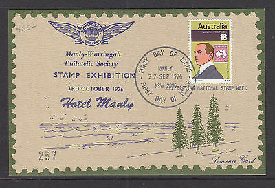 Souvenir Covers:  Manly Warringah Stamp Expo Card Limited Edition And  Scarce