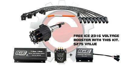 ICE Ignition NEW 7 AMP 1 STEP Kit with REV LIMITER; 69-87 Holden 253-308, Carb