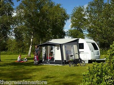 Isabella Magnum Porch Awning 250 Coal / Carbon X poles. 2016, brand new.