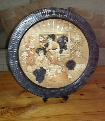 Bretby wall plaque or standing display plate