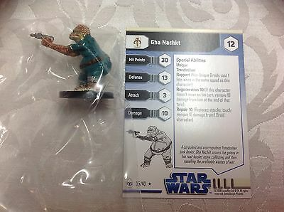 Star Wars Gha Nachkt  #35/40 new in bag with stat card