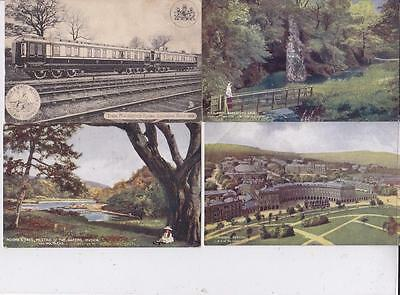 5 Early Railway Locomotive Related Postcards      F22