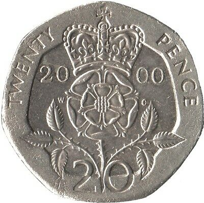 20p twenty pence coin choose your year 1982- 2015 circulated coin hunt