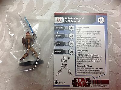 Star Wars Obi Wan Kenobi Jedi general #32/40 new in bag with stat card