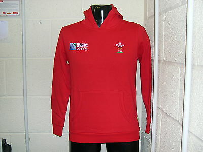 WRU Rugby World Cup Hoody Size UK Large Boys